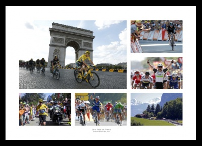 2016 Tour de France 'Scenes from the Tour' Cycling Photo Memorabilia