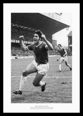 Bob Latchford 30th Goal of Season 1978 Photo Memorabilia