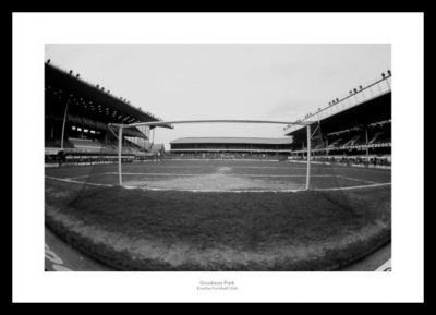 Everton FC Goodison Park Stadium Photo Memorabilia