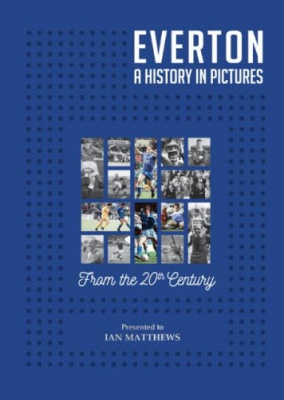 Everton FC - A History in Pictures Personalised Book