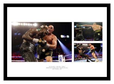 Tyson Fury v Deontay Wilder 2 Boxing Photo Memorabilia
