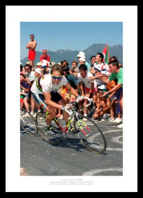 Greg Lemond 1990 Tour de France Photo Memorabilia