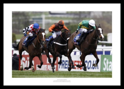 Tony McCoy & Synchronised 2012 Cheltenham Gold Cup Photo Memorabilia