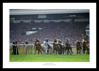 Desert Orchid Last Race in 1991 Photo Memorabilia