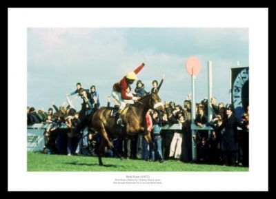 Red Rum Wins the 1977 Grand National Photo Memorabilia