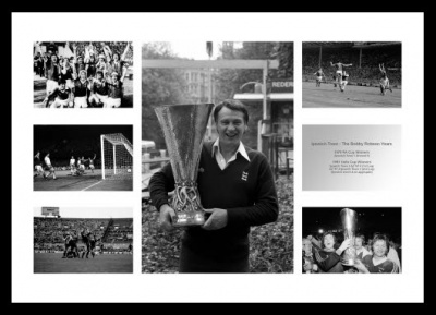 Ipswich Town The Bobby Robson Years Photo Memorabilia