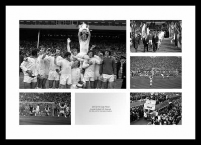 Leeds United 1972 FA Cup Final Photo Montage