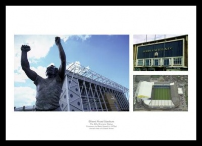Elland Road Leeds United Stadium Photo Memorabilia
