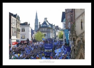 Leicester City 2016 Premier League Champions Photo Memorabilia