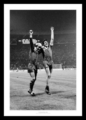 Liverpool 1978 European Cup Final Photo Memorabilia