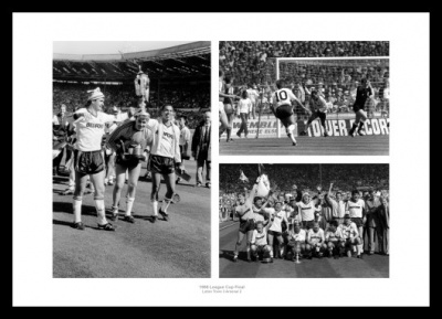 Luton Town 1988 League Cup Final Photo Memorabilia