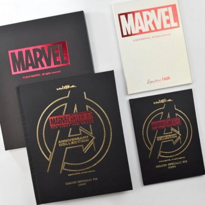 Personalised Marvel Studios 10th Anniversary Book