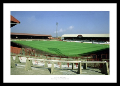 Middlesbrough FC Ayresome Park Stadium Historic Photo Memorabilia