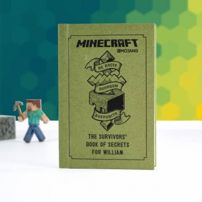 Personalised Minecraft The Survivor's Book of Secrets