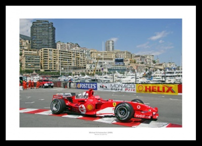 Michael Schumacher 2005 Monaco Grand Prix Photo Memorabilia