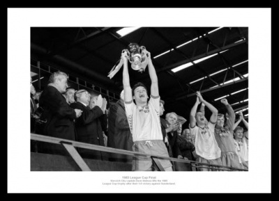 Norwich City 1985 League Cup Final Photo Memorabilia