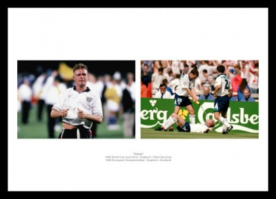 Gaza Paul Gascoigne Photo Memorabilia