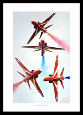 The Red Arrows Aerobatic Display Photo