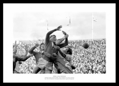 Willie John McBride Ireland Rugby Legend Photo Memorabilia