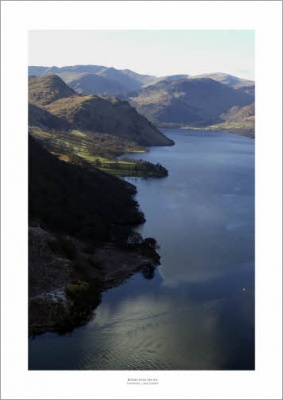 Lake District Ullswater Aerial Landscape Photograph