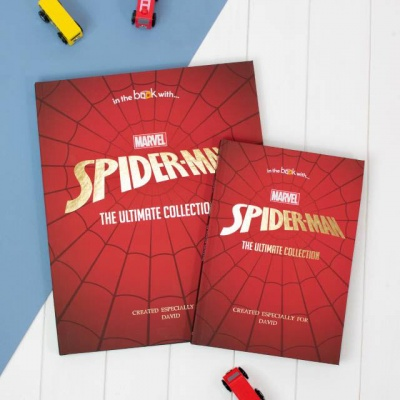 Personalised Marvel Spider-Man Collection Book