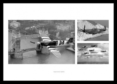 Spitfire Aviation Legends Photo Montage