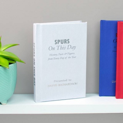 Personalised Tottenham Hotspur 'On This Day' Book