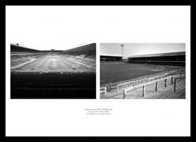 Sunderland AFC Stadiums Old and New Photo Memorabilia