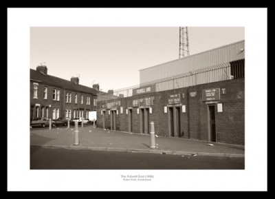 Sunderland AFC Roker Park Stadium Fullwell End Photo Memorabilia