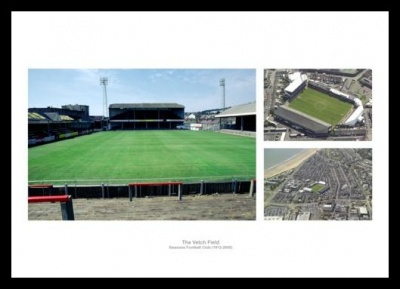 Swansea City The Vetch Field Stadium Photo Memorabilia