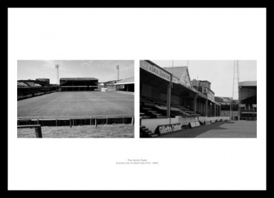 Swansea City Vetch Field Stadium Historical Photo Memorabilia