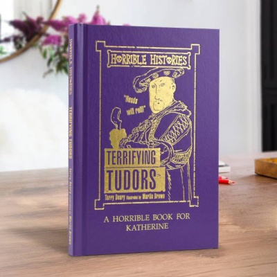 Personalised Horrible Histories Terrifying Tudors Book
