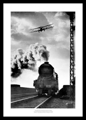 Flying Scotsman Historic 1934 Steam Train Photo Memorabilia