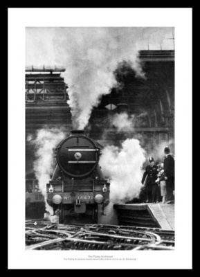 Flying Scotsman Classic Steam Train Photo