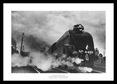 Gresley A4 Pacific 1938 Classic Steam Train Photo