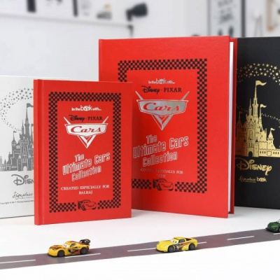 Personalised Disneys The Ultimate Cars Collection Collection Book
