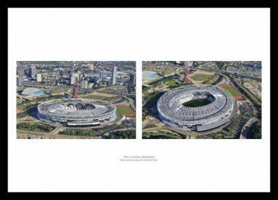 London Stadium West Ham United Aerial Views Photo Memorabilia