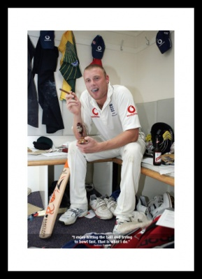 Andrew Flintoff Classic Quote 2005 Ashes Photo Memorabilia