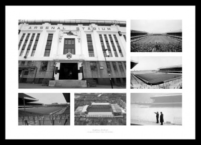 Highbury Stadium Memorabilia Historic Arsenal FC Photo Memorabilia