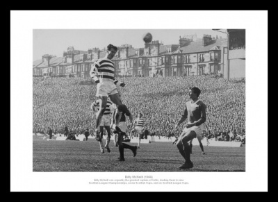 Billy McNeill Celtic v Rangers 1966 Scottish Cup Final Photo Memorabilia