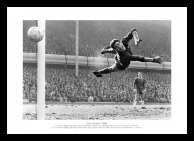 Peter Bonetti Chelsea Legend 1965 Photo Memorabilia