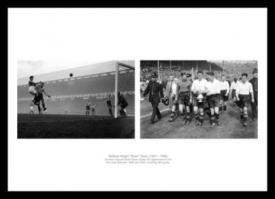 Dixie Dean Everton FC Legend Photo Memorabilia
