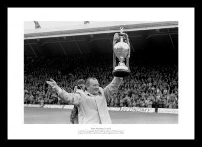 Liverpool 1983 League Champions Bob Paisley Photo Memorabilia