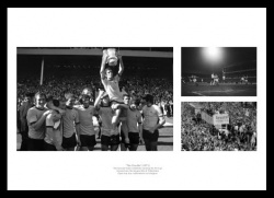 Arsenal 1971 League & FA Cup Double Photo Memorabilia