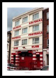 Highbury Stadium West Stand Entrance Photo Memorabilia