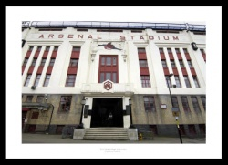 Highbury Stadium East Stand Photo Memorabilia