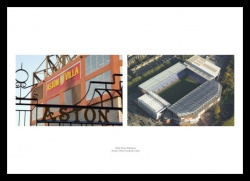 Villa Park & Aerial Views Aston Villa Photo Memorabilia