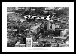 Avro Vulcan Bomber Over Coventry Aviation Photo Memorabilia