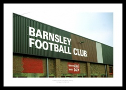 Oakwell Stadium West Stand Photo Memorabilia