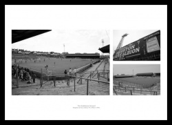 Brighton & Hove Albion Goldstone Ground Photo Memorabilia